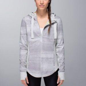 Lululemon Post Sweat Pullover Half Zip Hoodie 10